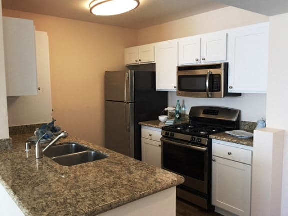 Fully-Equipped Kitchens at 55+ FountainGlen Laguna Niguel, California