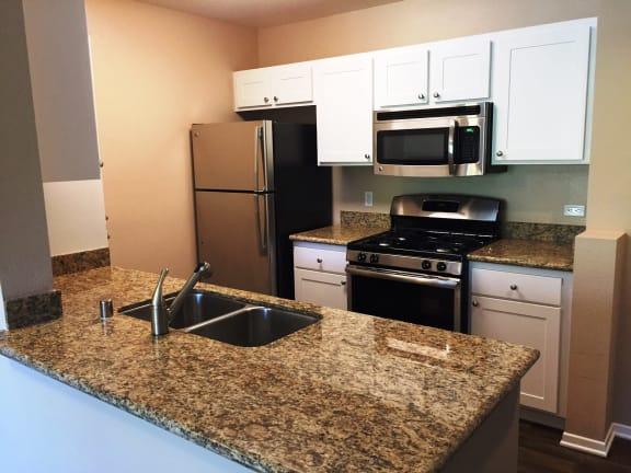 Well Organised Kitchen at 55+ FountainGlen Valencia, California, 91354