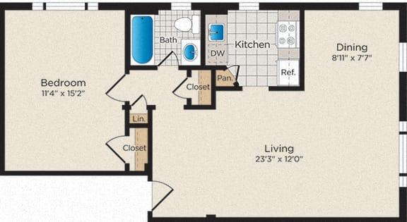 Floor Plan  A07 - North