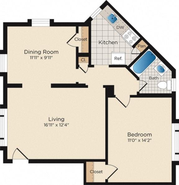 Floor Plan  A10 - West