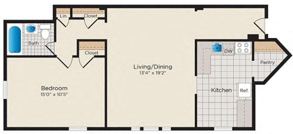 Floor Plan  A11 - South