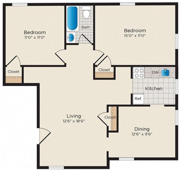 Floor Plan  B04 - North