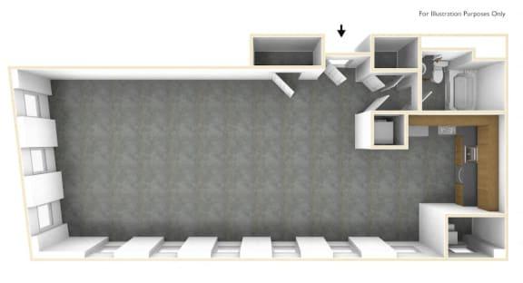 Loft Bedroom Apartment Floor Plan Haverhill Lofts
