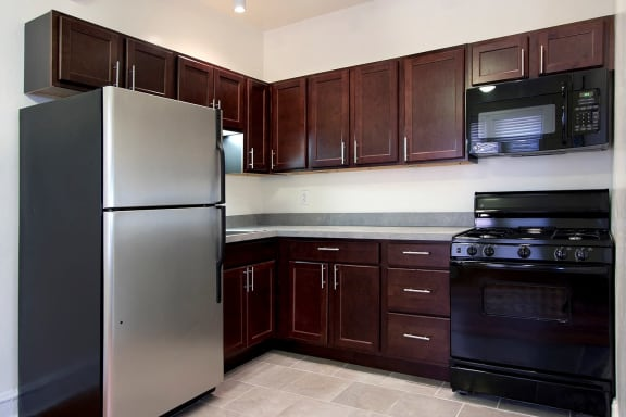 Kitchens with GE Energy Star Appliances  at Reside at 849, Chicago, IL,60613
