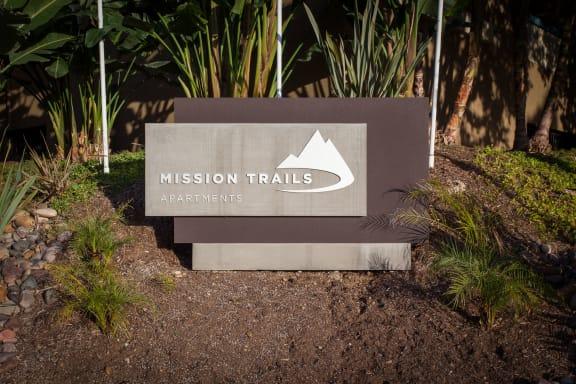 Mission Trails sign
