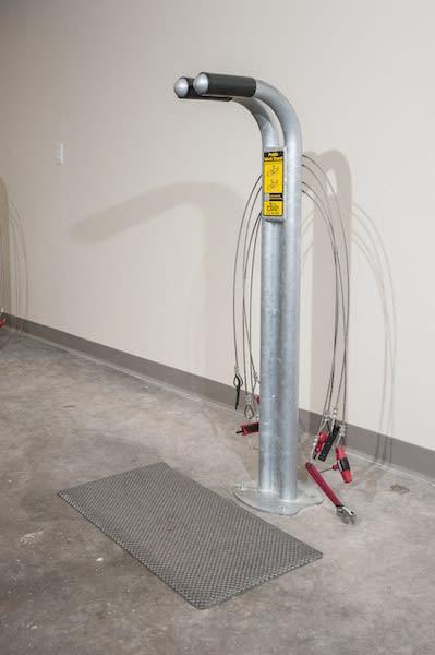 The Axis has Bike Storage & Fix-it Station