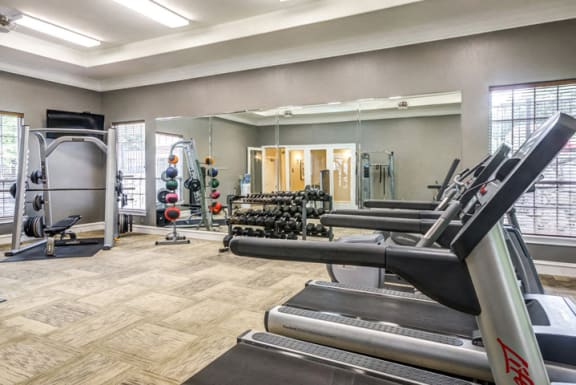 24 Hour Fitness Center at Riverstone at Owings Mills Apartments, Maryland, 21117