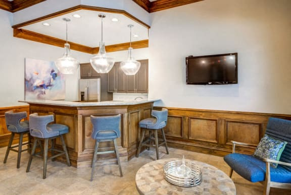 Clubhouse With Catering Kitchen at Riverstone at Owings Mills Apartments, Owings Mills, MD