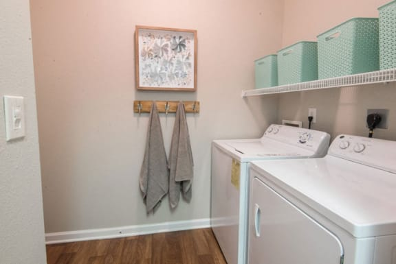Full-Sized Washer And Dryer at Riverstone at Owings Mills Apartments, Owings Mills