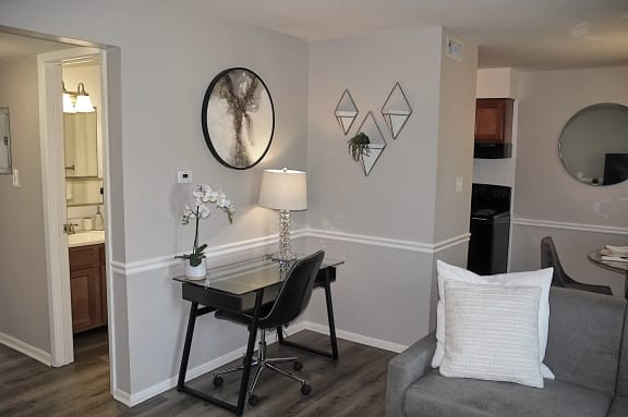 Cozy Living Room at Pickwick Farms Apartments, Indianapolis