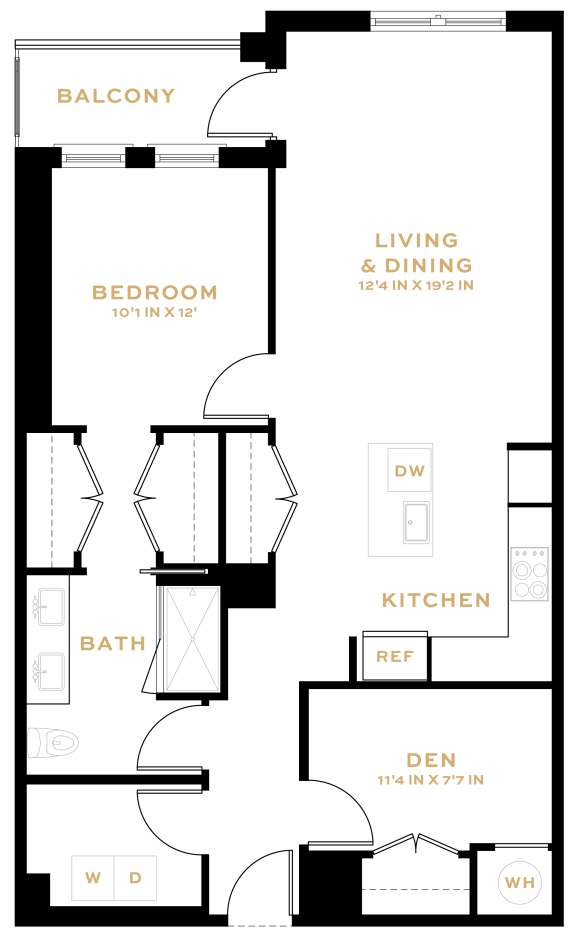 Floor Plan  AD08 Den