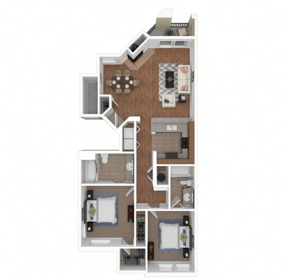 Floor Plan  Zoom of Floorplan at Legends at Rancho Belago, Moreno Valley, CA