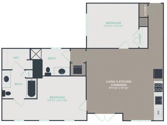 Floor Plan  B3-C