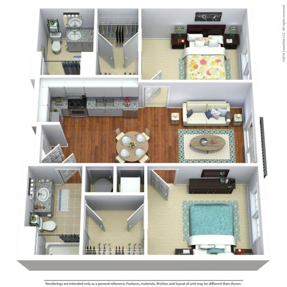 Floor Plan  South Sixteen The Woods Floorplan