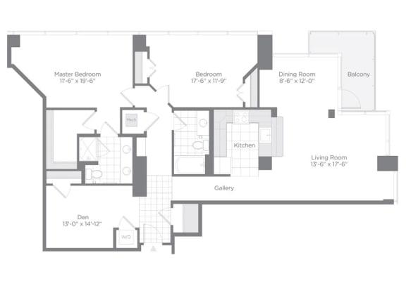 Floor Plan  C01 Den