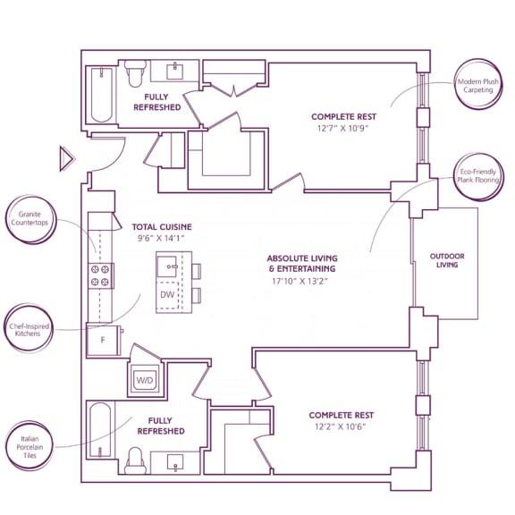 Floor Plan  B08