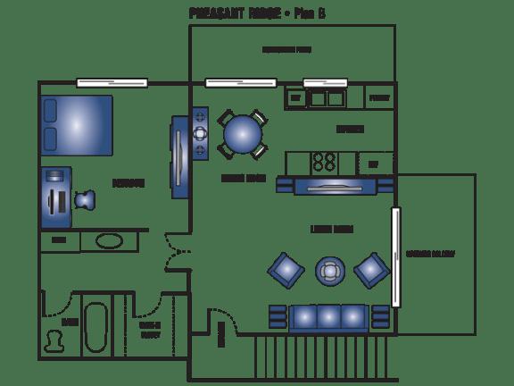 Floor Plan  Plan B
