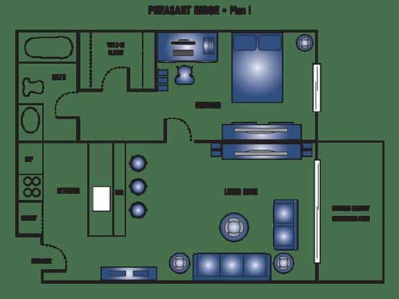 Floor Plan  Plan I