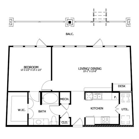 Floor Plan  A6
