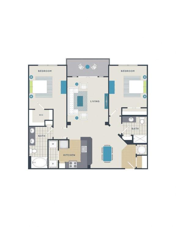 Floor Plan  Floor plan at 712 Tucker, Raleigh, NC 27603