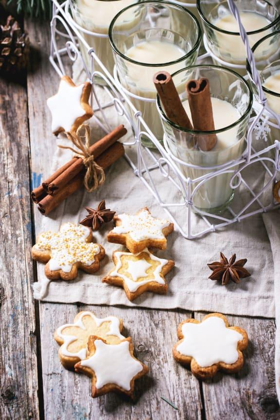 Star Shaped Cookies And Milk at Le Montreaux A Concierge Community, Austin, 78759