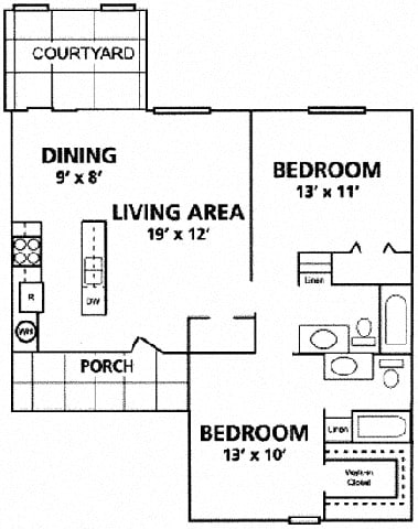Floor Plan  Le Montreaux Concierge Community Verdi floor plan at Le Montreaux A Concierge Community, Texas