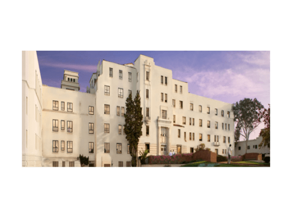 Exterior View of Building  l Hollenbeck Apartments in Los Angeles Ca