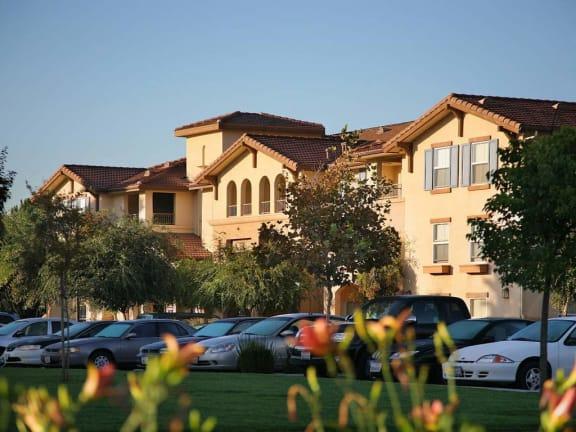 Exterior Building and Parking   l Portofino Villas Apartments  in Pomona CA