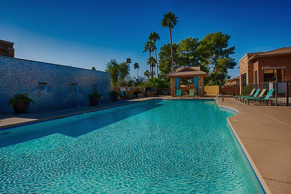 Olympic Size Swimming Pool at Residences at FortyTwo25, Phoenix,Arizona