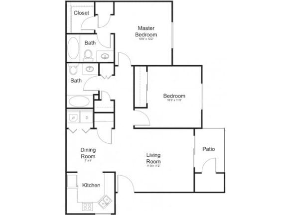 Floor Plan  Floor Plan at Allure at Tempe, Tempe, 85283