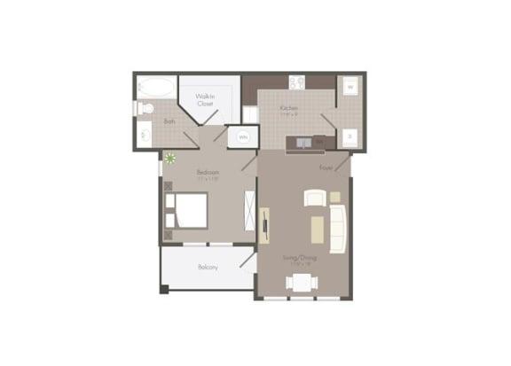 Floor Plan  Floor Plan at The Dorel Eagle Pass, Eagle Pass, TX 78852