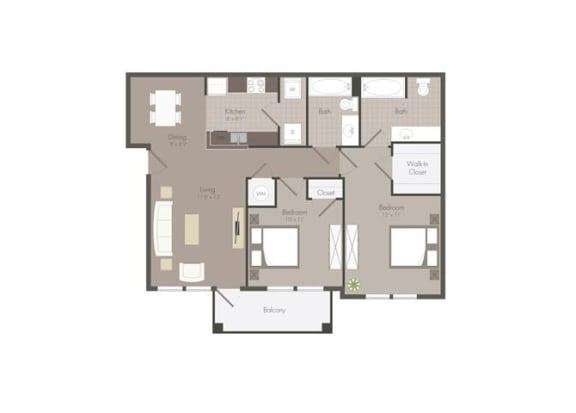 Floor Plan  Floor Plan at The Dorel Eagle Pass, Eagle Pass, TX
