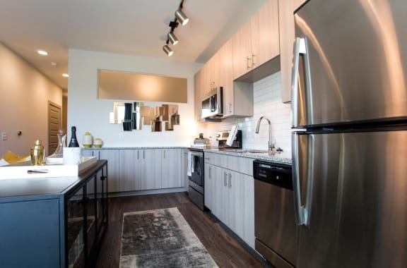 Modern Cabinetry at The Dartmouth North Hills Apartments, Raleigh