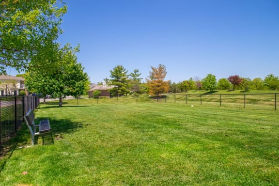 Large pet park at The Reserve at Williams Glen Apartments, IN, 46077