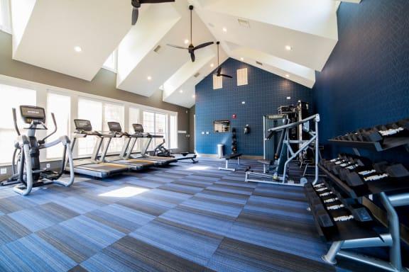 Modern Fitness Center at The Village on Spring Mill, Carmel, 46032