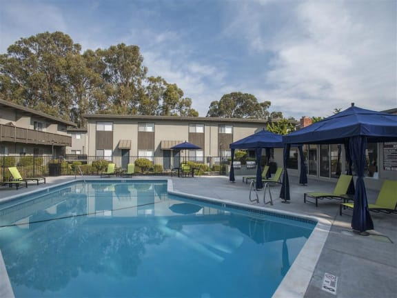 Resort Style Poolat Monterey Townhouse, Monterey, CA, 93940