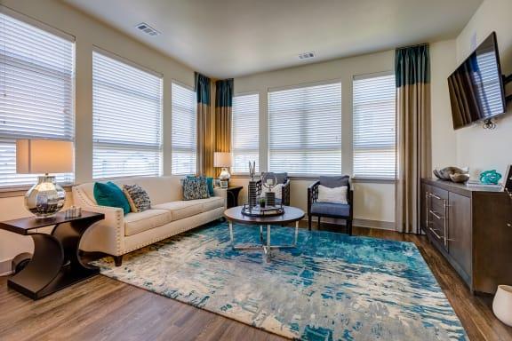 Large windows at Windsor at Pinehurst, Colorado, 80235