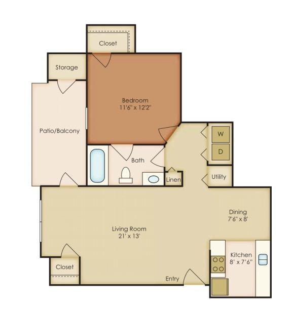 Floor Plan  Azalea 4