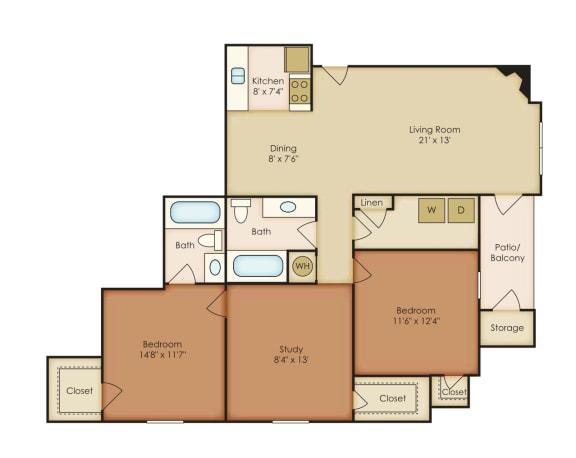 Floor Plan  Magnolia 4