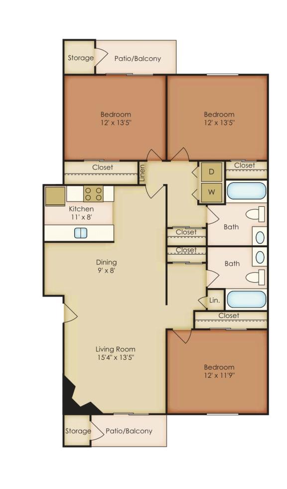 Floor Plan  Oleander 1