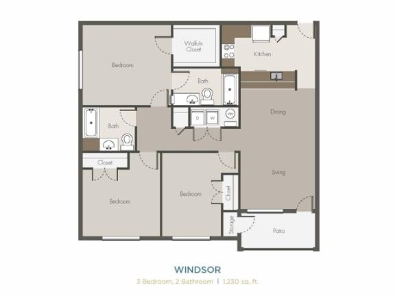 Floor Plan  Windsor Floor Plan