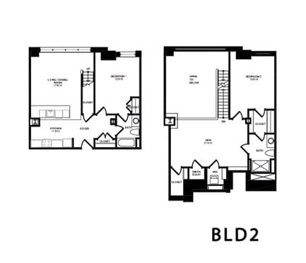 Floor Plan  BDL2