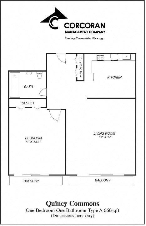 One Bedroom for Rent in Quincy