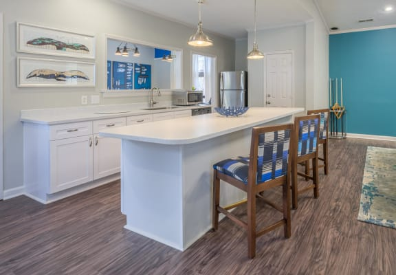 Gourmet Kitchen With Island at St. Andrews Reserve, Wilmington, NC, 28412