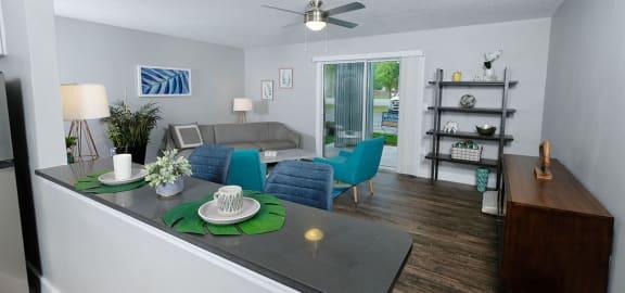 Mandarin Bay Living Room