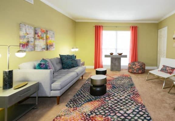 Hidden Colony Apartments Living Room