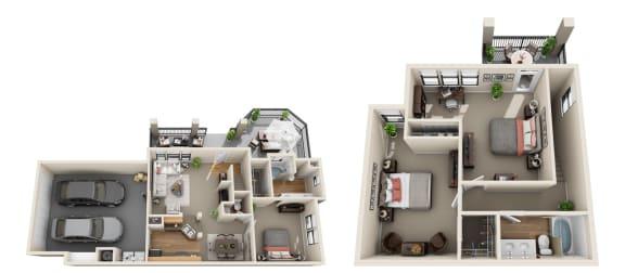 Floor Plan  Fieldstone, D1
