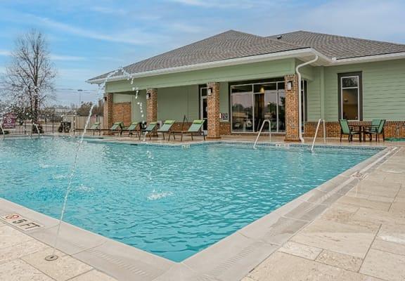 Fountains of Edenwood Apartments Pool