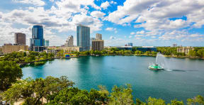 Ideally located in downtown Orlando | Paramount on Lake Eola