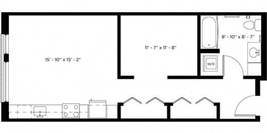 Atlas 0B Floor Plan